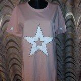 4 цвета!новые трикотажные платья-туники. Фото 2.