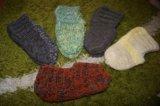 Носки тапочки ручная вязка. Фото 4.