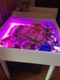 Световой стол-планшет для рисования песком кубо. Фото 4.