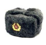 Шапка ушанка военная шапка солдатская ссср. Фото 1.