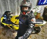 Мото куртка alpinstars мотокуртка чёрная. Фото 1.
