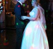 Свадебное платье+креналин на 5 колец в подарое