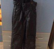 Зимние брюки для мальчика утеплённые