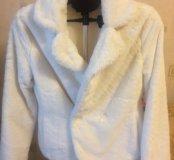Пиджак -накидка белая