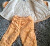 Утеплённый костюмчик детский