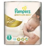 Pampers Premium Care 1 (2-5кг) 78 штук