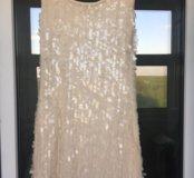 Платье с палетками