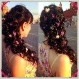 Плетение кос, свадебные, вечерние прически