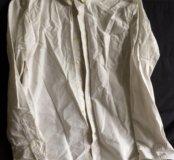 Мужская белая рубашка H&M