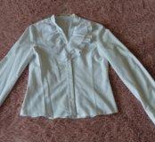 Блузка школьная рост 154