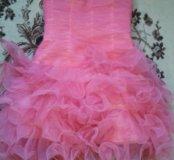 Платье корсетом