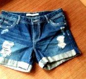Джинсовые шорты Zara