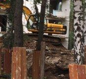 Демонтаж домов и фундаменты