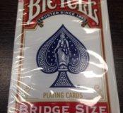 Игральные карты Bicycle bridge red