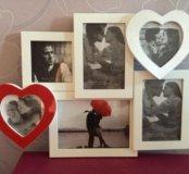 Рамка для фото love