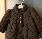 Курточка коричневая на 9 месяцев Ralph Lauren