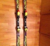 Горные лыжи fischer RC4 SC Pro 160см