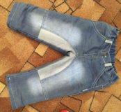 Зимние джинсы,теплые