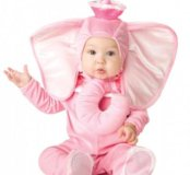 Новый костюм Розовый слоненок