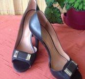 Обувь.Туфли женские  кожаные.Вечерние.