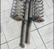 Civic 4d амортизатор , пружины задние
