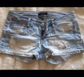 Шорты джинсовые 42