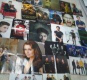 Плакаты со знаменитостями.