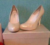 Свадебные туфли айвори 38 р