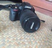 Продам фотоаппарат Nikon D5100 с впышкой