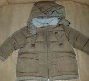 Куртка Zara 9-12мес осень/весна