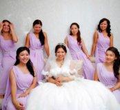 Свадебное платье, платье подружек невесты