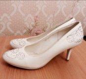 Свадебные  туфли 💖