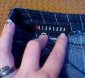 Юбка карандаш, джинсовая