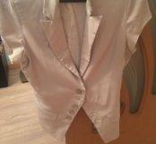 Пиджак с коротким рукавом