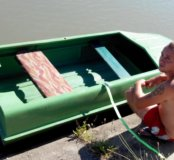 Стеклопластиковая лодка Романтика