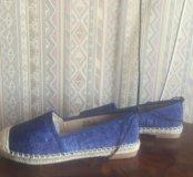 женские ботинки (эспадрильи) 37 размер новые