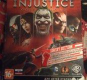 Игра для PlayStation 3  Injustice