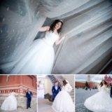 Пышное Свадебное платье Ришелье