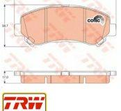 Колодки для Nissan: Xtail. TRW GDB 3467 (новые)