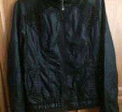 Куртка кожаная новая 54 размер