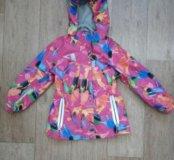 Куртка водонепроницаемая, на флисе, 104 размер