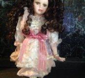Фарфоровая кукла Porcelain Doll 30см