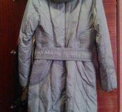 пуховик пальто зимний
