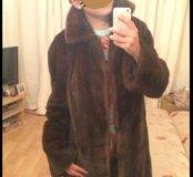 Новая норковая шуба Kopenhagen Fur