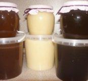 Мёд разных вкусов со своей пасеки.