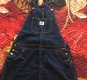 Новый джинсовый сарафан размер 42-44