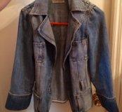 Женская джинсовая куртка (жакет) Evgenia Ostrovska