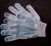 Перчатки с пвх напылением