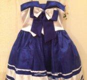Платье нарядное на малышку 30р-р