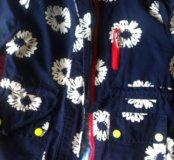 Курточка на девочку 3-4 года